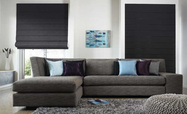 indoor blinds roman