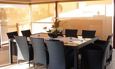 Patio Blinds / Cafe Blinds